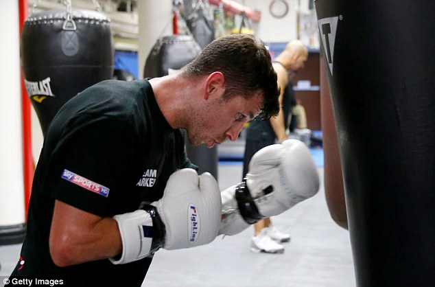 Hungry: Barker is one of the world's leading middleweights