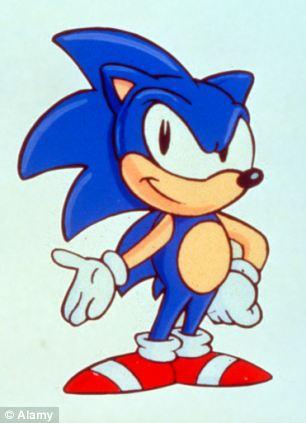 Sonic the hedgehog was a nineties icon