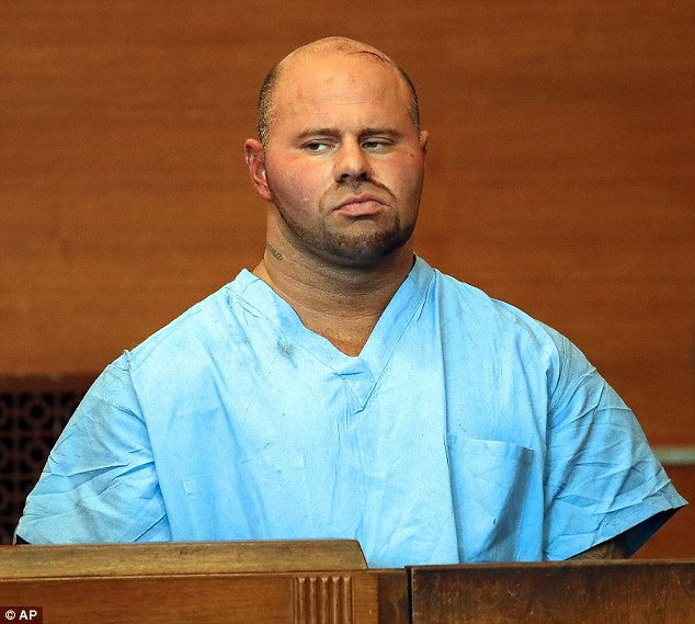 Jared Remy is accused of stabbing to death his 27-year-old girlfriend last August while their 5-year-old daughter looked on at their Boston home