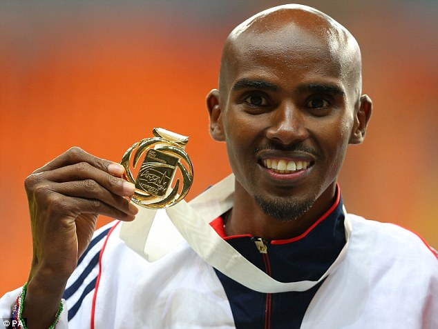 Sporting legend: Farah has to be considered one of Great Britain's best ever athletes