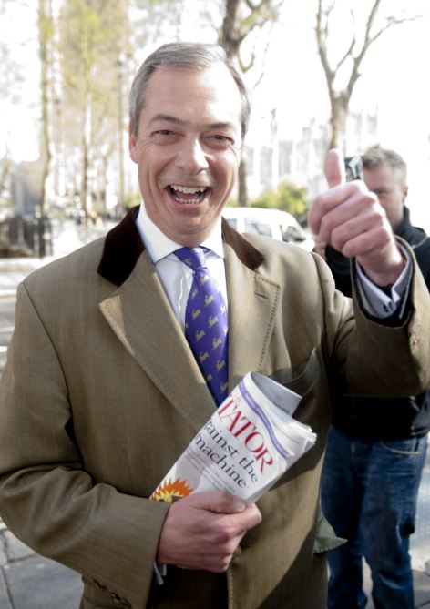 Fierce critic: UKIP leader Nigel Farage is strongly opposed to HS2