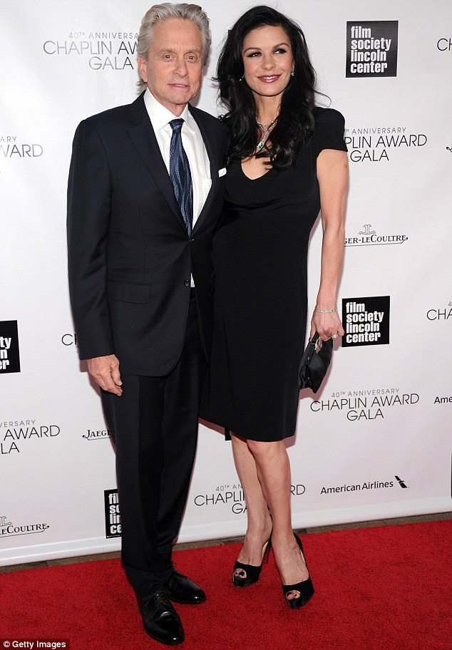 High profile: Michael Douglas and Catherine Zeta Jones are amongst the most powerful couple in showbiz