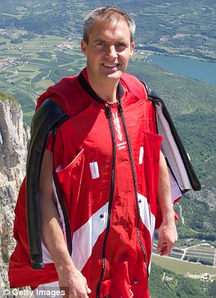 Tragic: Mark Sutton is thought to have died instantly in the accident in the Swiss Alps