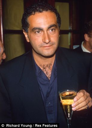 Diana, Mr Al Fayed (pictured) and chauffeur Henri Paul died after their Mercedes crashed in a tunnel in Paris on the morning of August 31, 1997