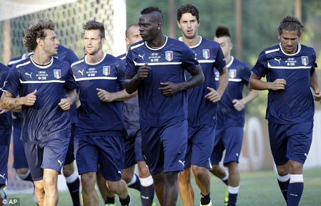 High profile: Italy international Balotelli is a key player for both club and country