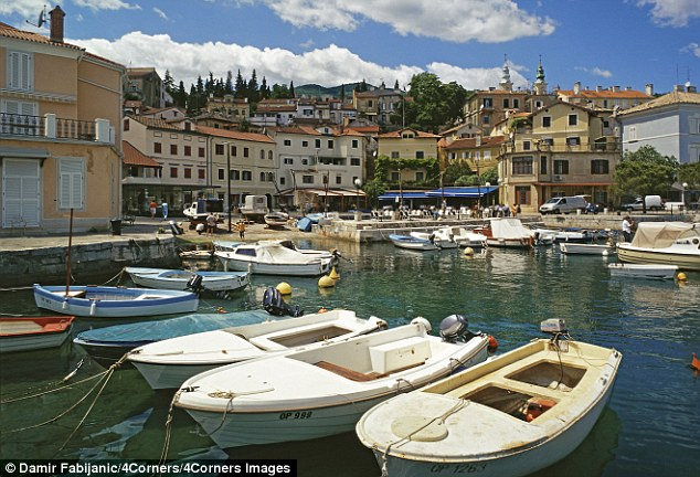 Istria and boats in the harbour
