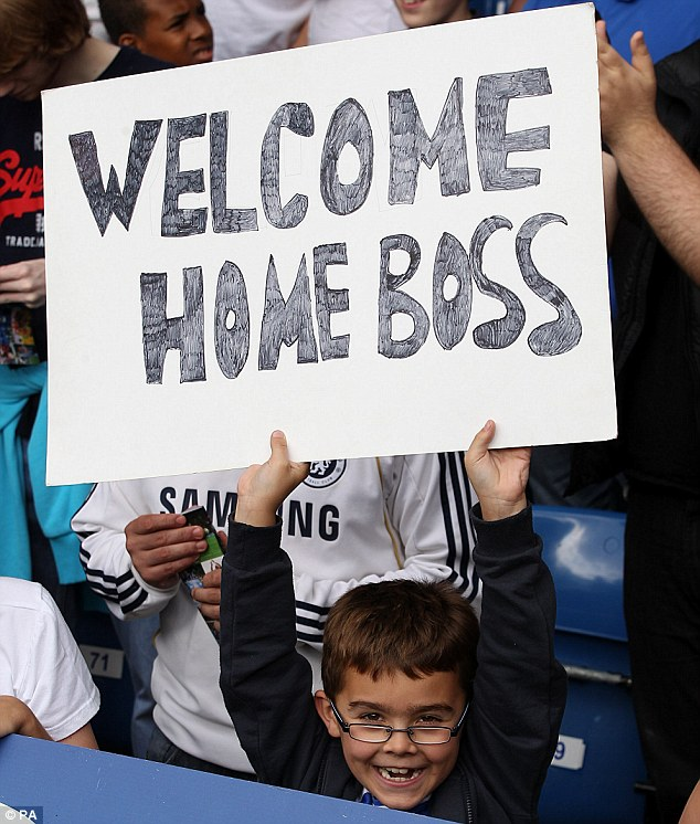 Had you even been born last time Jose was there? Even young Chelsea fans are inspired