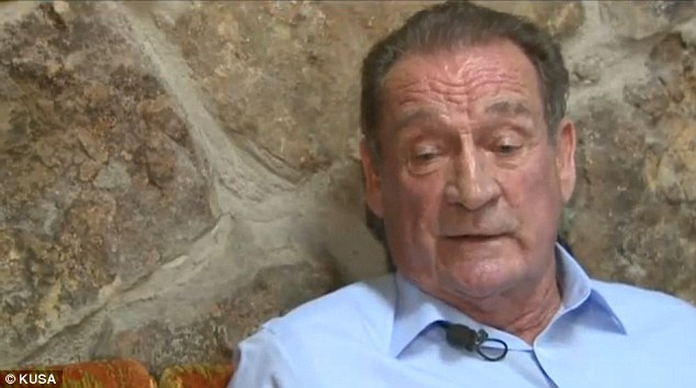 Denial: Fran Freemyer denies he ever treated humans, except for himself - when he rubbed dog medicine on his own melanoma