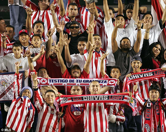 Appeal: Chivas USA's owner is said to be trying to make the team appeal to the large Mexican population in Los Angeles