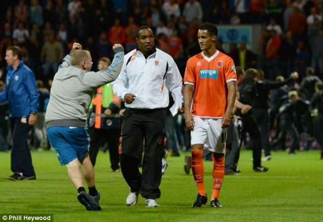 Missing: Ince was banned after an incident at Preston