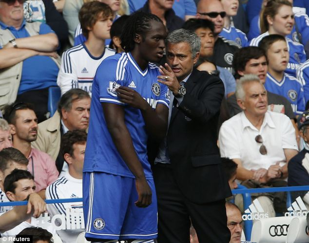 Promise: Lukaku could play a big part under Jose Mourinho at Chelsea this season