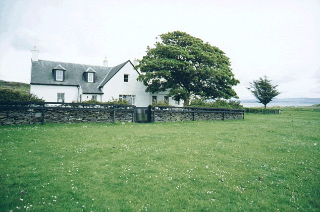 Peaceful: Tarbert Lodge on the Isle of Jura where Prime Minister David Cameron spends his holidays