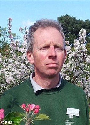 jimJim Arbury, pictured, the Royal Horticultural Society's fruit specialist in Surrey
