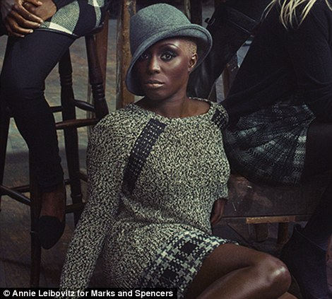 On the edge: Singer Laura Mvula's breakthrough came this year and Monica Ali shot to writing fame after her 2004 novel Brick Lane about East London life