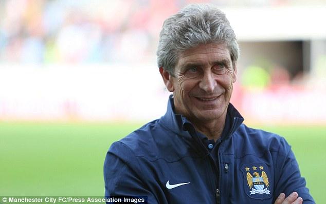 New man at the helm: City boss Manuel Pellegrini