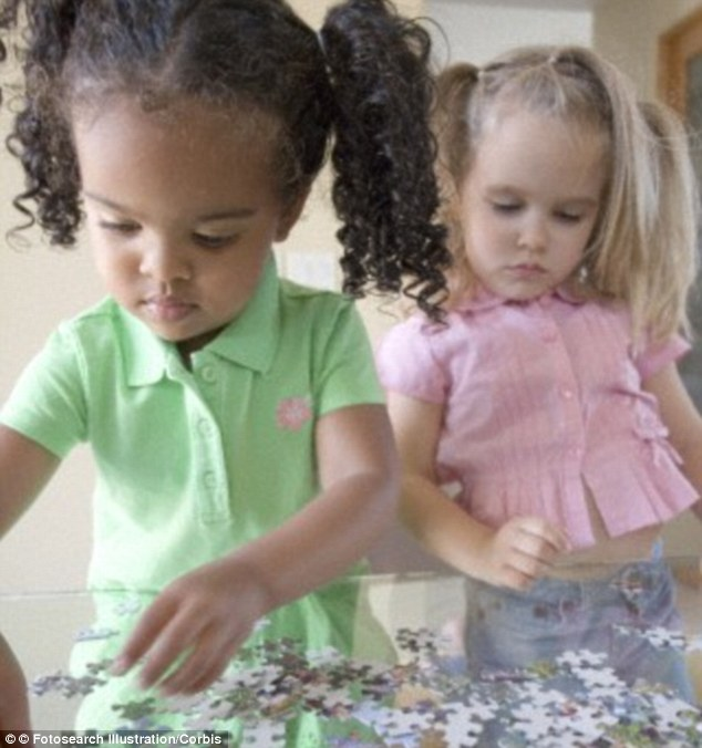 Children get a competitive streak from the age of just four years old. Only then do they start to seriously play to win, no matter what kind of dirty tricks it takes, new research has found
