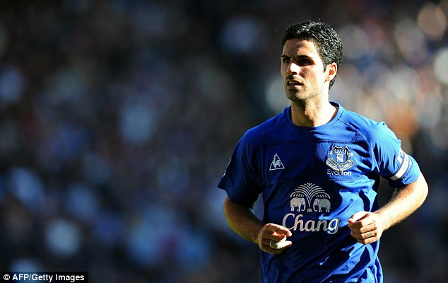Shrewd negotiators: Everton also squeezed £10m out of Arsenal for Mikel Arteta