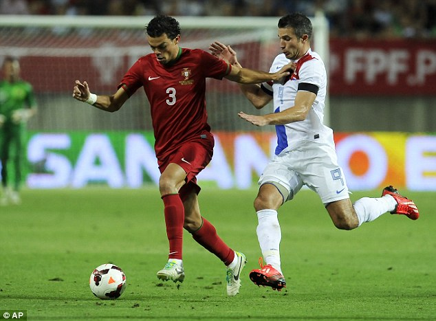 Target: City could now be forced to ramp up their interest in Real Madrid and Portugal defender Pepe (left)