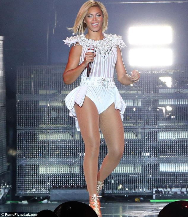 Working up an appetite: Beyonce at V Festival