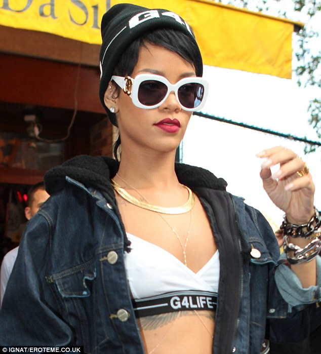 Labels: Rihanna teams Channel sunglasses with her own brand clothing line