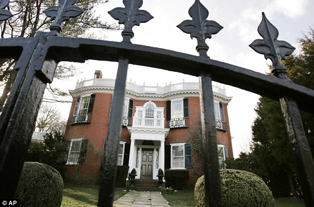 This is the mansion in Lovecraft's hometown of Providence, Rhode Island, that served as a setting for one of his most famous works, 'The Case of Charles Dexter Ward'