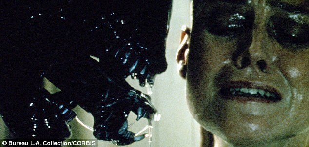 Creeping horror: Many of the works that Lovecraft influenced are now far popular than Lovecraft is. Seen here, a scene from 'Alien'