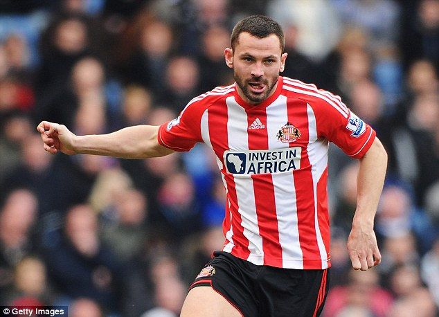 Don't come back: Phil Bardsley was told that he would not play for Sunderland again after the incident