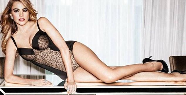 Roar: Sofia Vergara has released a range of sexy shapewear for Kmart