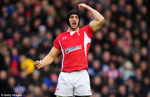 National hero: Warburton is a key man for the Welsh national side, but will have to decide whether to stay in the regional game with Cardiff Blues, his only club side to date
