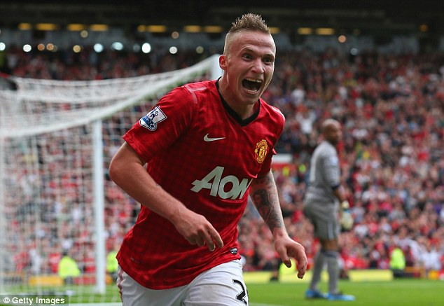Loan move: Dutch left-back Buttner could be on his way out of Old Trafford on a short-term deal