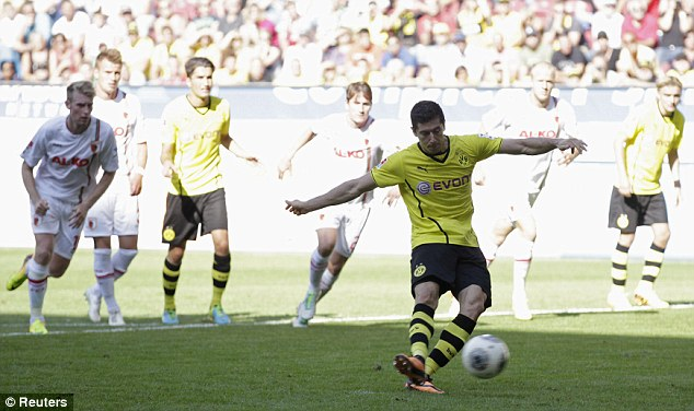 Differences: Robert Lewandowski has resolved his issues with Borussia Dortmund