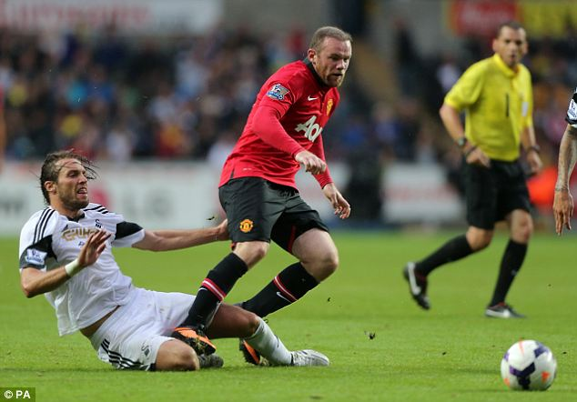 Snub: Man United insist Rooney is not for sale