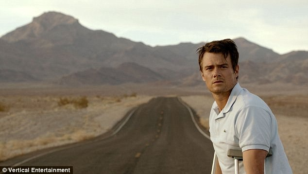 In theaters now: Josh stars in Scenic Route, a psychological thriller about two friends who get stranded in the California desert