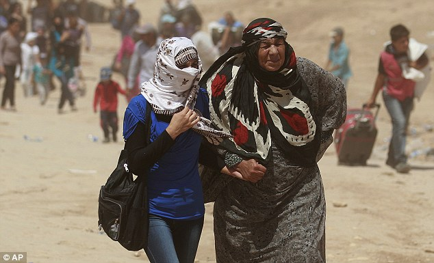 Authorities in Iraqi Kurdistan have imposed a quota in an effort to limit the flood of refugees