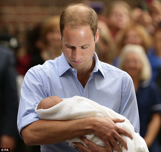 Will William be a 'terrier' dad- closely involved with his son and joining in his games and activities?