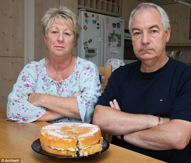 Loyal husband: John Molyneux has said 'I am horrified, I am incensed by this and I think this is wrong', but the hospice maintains it is best for the patients