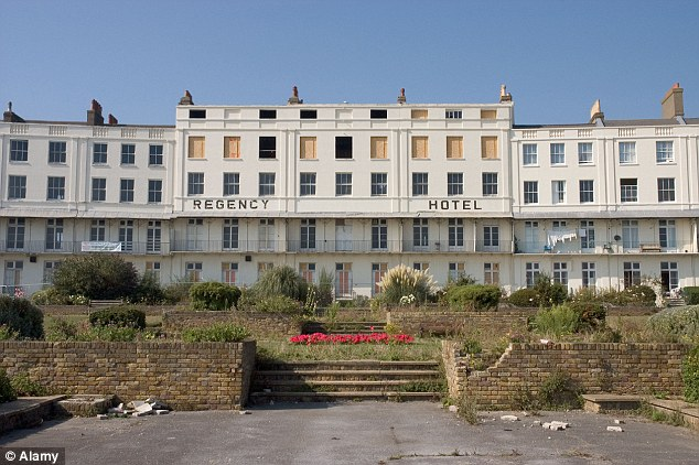 Better days: The once glorious Regency Hotel in Ramsgate is badly in need of a facelift