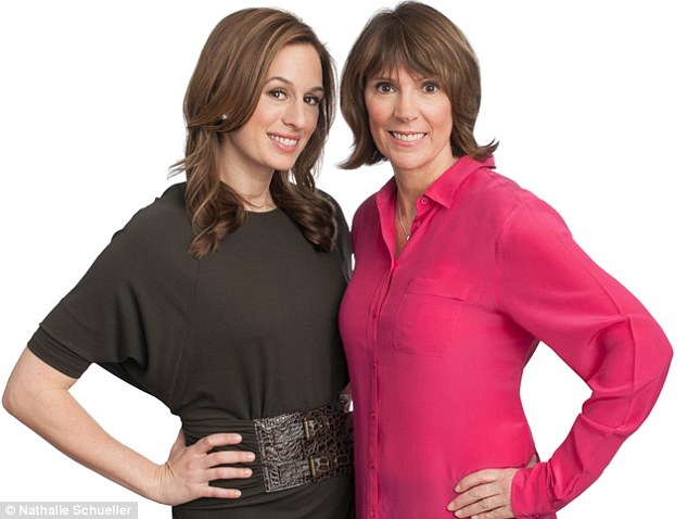 Pamper and protect: Nutritionist Brooke Alpert, left, and dermatologist Dr Patricia Farris have developed a diet plan and skincare regime to help people look younger