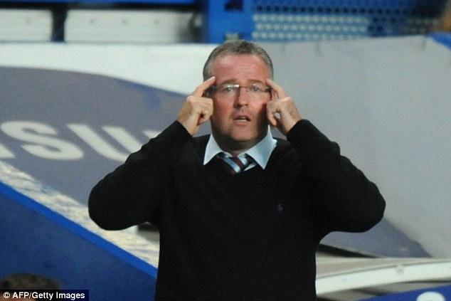 Trying to keep his mind on the game: Lambert attempts to keep his players focused