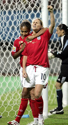 Something to celebrate: Women's football has come a long way