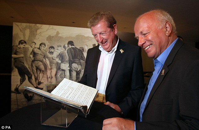 Still waiting: Greg Dyke (right) is yet to reply to David Frith