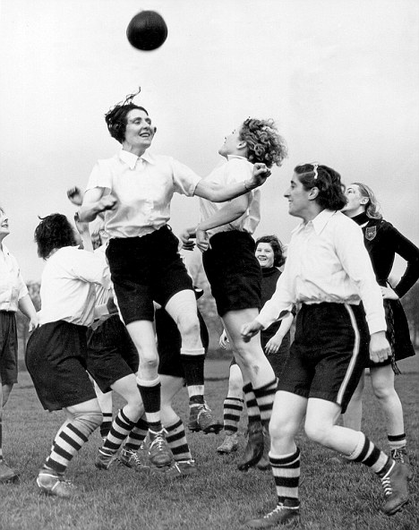 Rising above the prejudice: Preston Ladies Football Club in training