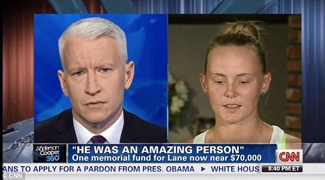 Emotional Interview: Sarah Harper, the girlfriend of slain Australian baseball player Chris Lane, speaks with Anderson Cooper on CNN