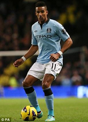 Outcast: The winger played just 11 Premier League games last season