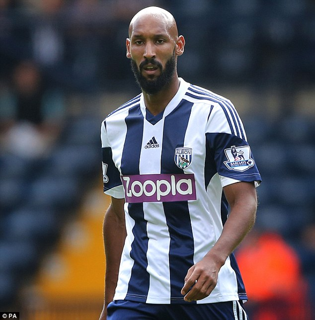 Main man: Anelka has spent less than 50 days at the Midlands club