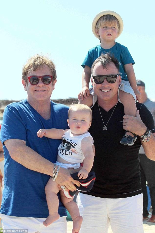 One big happy family: Baby Zachary