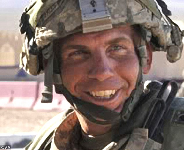 Life behind bars: Prosecutors said Robert Bales, 40, should have only one title for the rest of his life - 'prisoner'