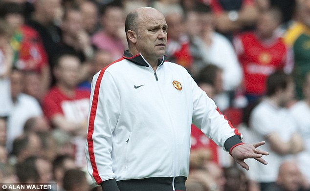 'Cheeky': Ex-united coach Mike Phelan said he had never seen the club do transfer business in this manner