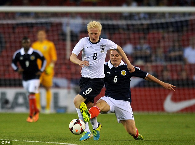 Bright spark: England U21 star Will Hughes is lighting up the Championship at Derby