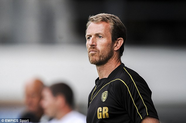 On the up: Gary Rowett has a good chance to lead Burton to promotion